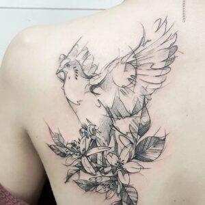 duif tattoo idee